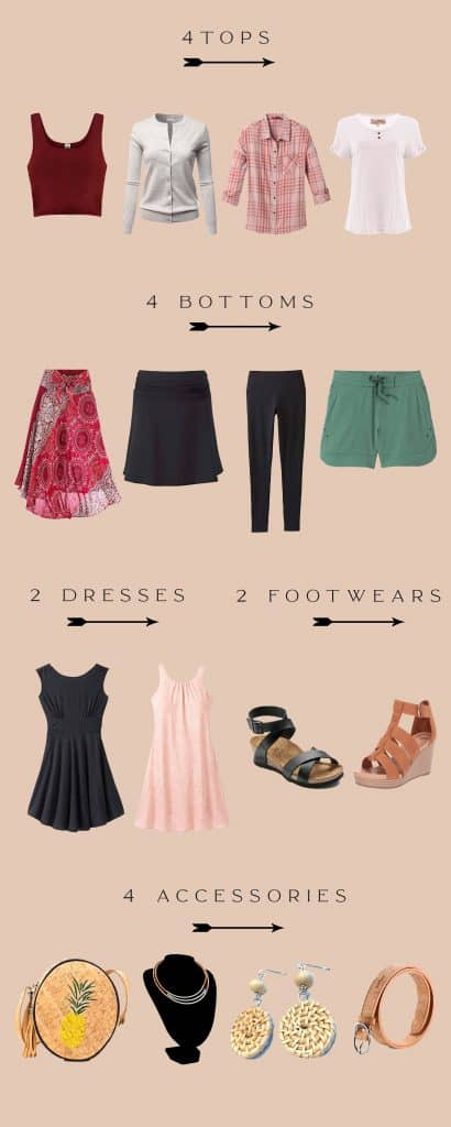 summer outfits wardrobe