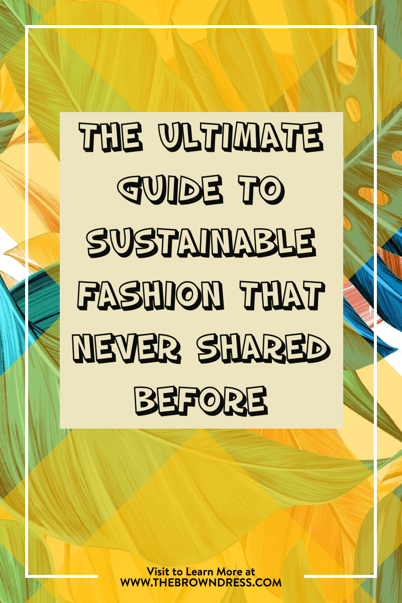 sustainable fashion quick lessons